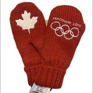 Vancouver 2010 Olympic Winter Mittens Kids